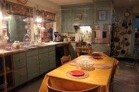 jadalnia, stół, zastawa